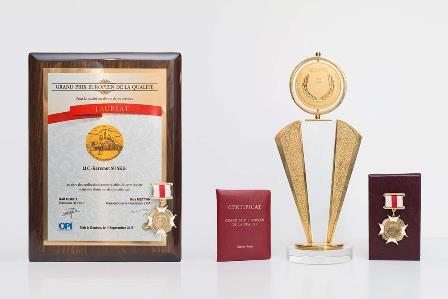 Казахстанская Вода Samal завоёвывает Европейские награды