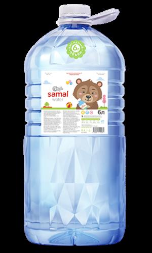 Вода Детская Samal 6 л